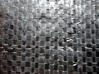 織り目の粗い織布