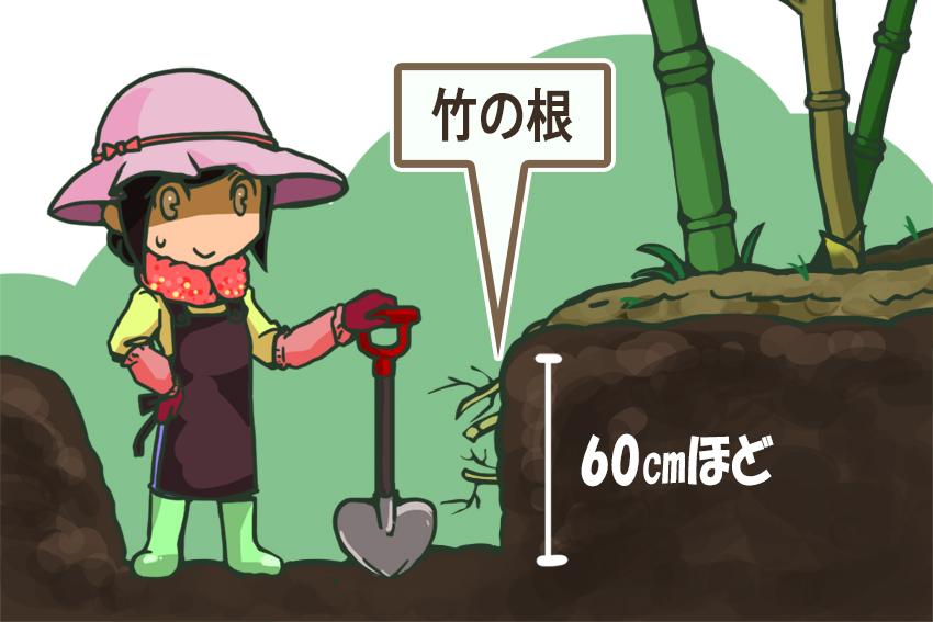 手順1_土を掘る