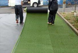 リアル人工芝の設置