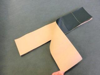 ピンシール(改良版)裏紙の様子