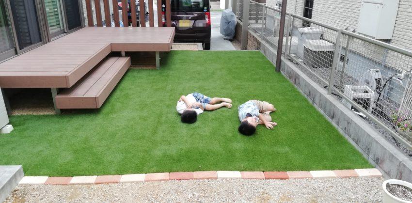 [とげまる様]雑草対策事例①