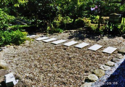 宅地の防草シート施工事例(お庭)[コンテスト応募作品]