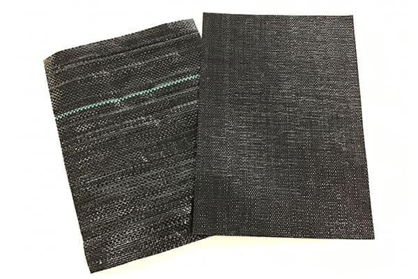 織物タイプの防草シート