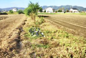 [出畑様]雑草対策事例②整地前