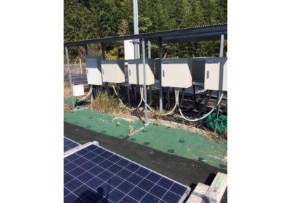太陽光発電施設の防草シート施工事例[コンテスト応募作品]