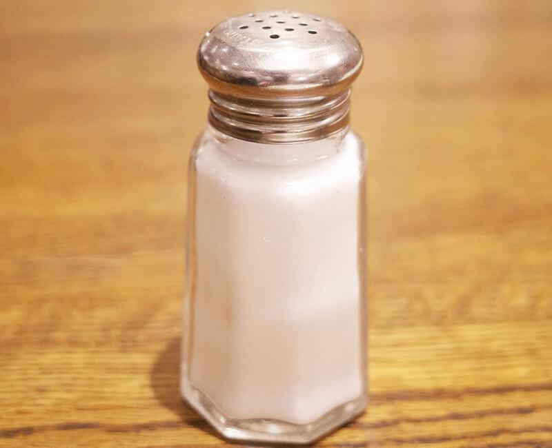 雑草対策 塩